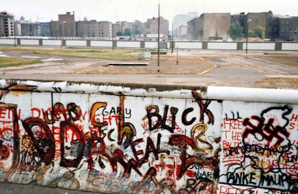 Berliner Mauer 1989