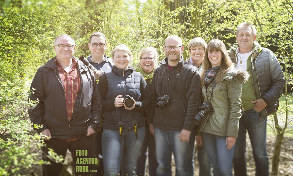 Workshop im frühlingshaften Schlosspark