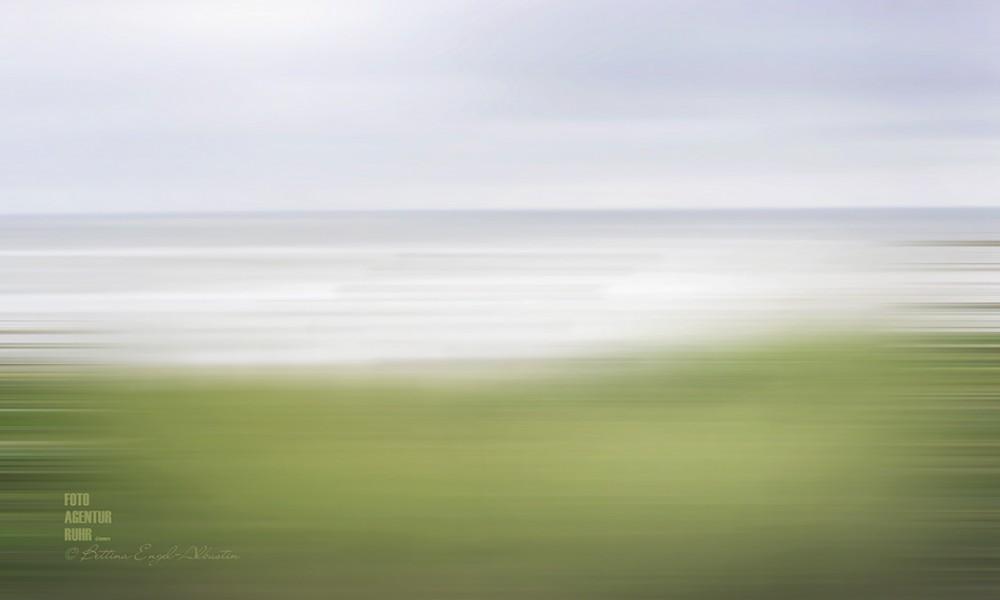 Starker Wind in Egmond aan Zee