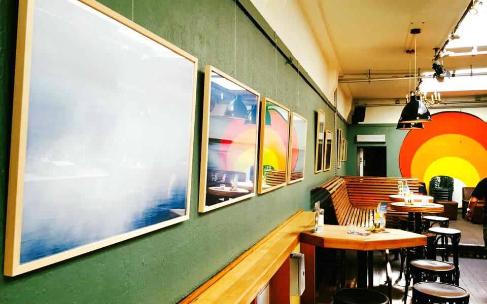 Moerser Atelier offen! Die ersten Bilder hängen …