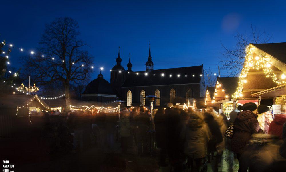 Weihnachtsstimmung am Kloster