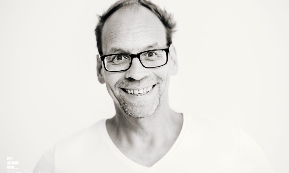 Fröhliches Portraitshooting