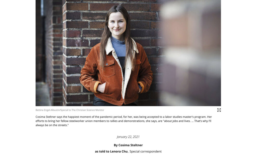 21 in ´21- Magazin aus Boston