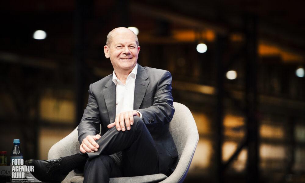 Olaf Scholz im Portrait